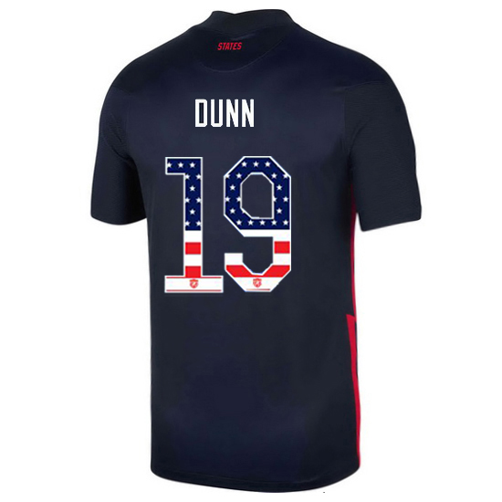 Away Crystal Dunn 20/21 Men's Stadium Jersey Independence Day