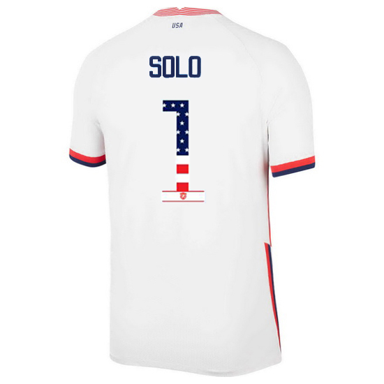 Home Hope Solo 20/21 Men's Stadium Jersey Independence Day
