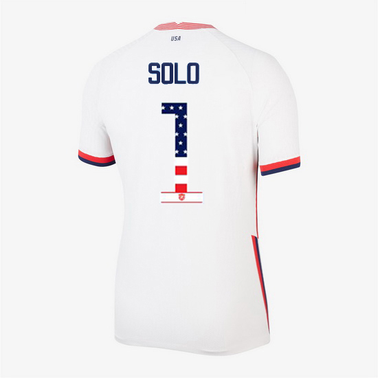 White Hope Solo 2020 Women's Stadium Jersey Independence Day