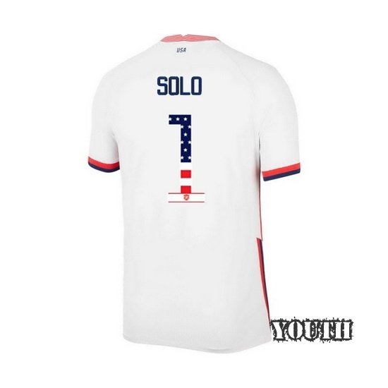 Home Hope Solo 2020/21 Youth Stadium Jersey Independence Day