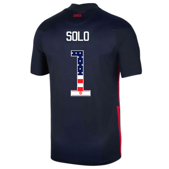 Away Hope Solo 20/21 Men's Stadium Jersey Independence Day