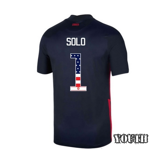 Away Hope Solo 2020/21 Youth Stadium Jersey Independence Day
