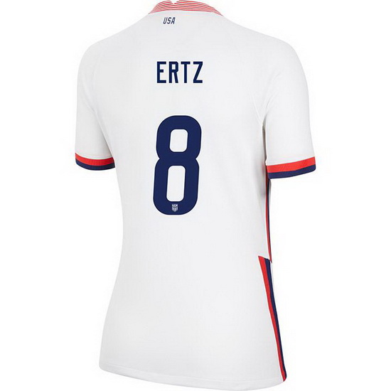 USA Home Julie Ertz 2020/21 Women's Stadium Soccer Jersey