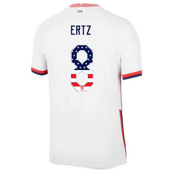 Home Julie Ertz 20/21 Men's Stadium Jersey Independence Day