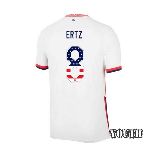 Home Julie Ertz 2020/21 Youth Stadium Jersey Independence Day