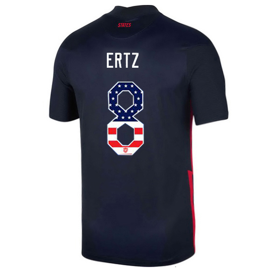 Away Julie Ertz 20/21 Men's Stadium Jersey Independence Day