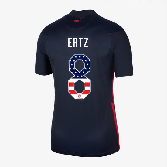Navy Julie Ertz 2020 Women's Stadium Jersey Independence Day