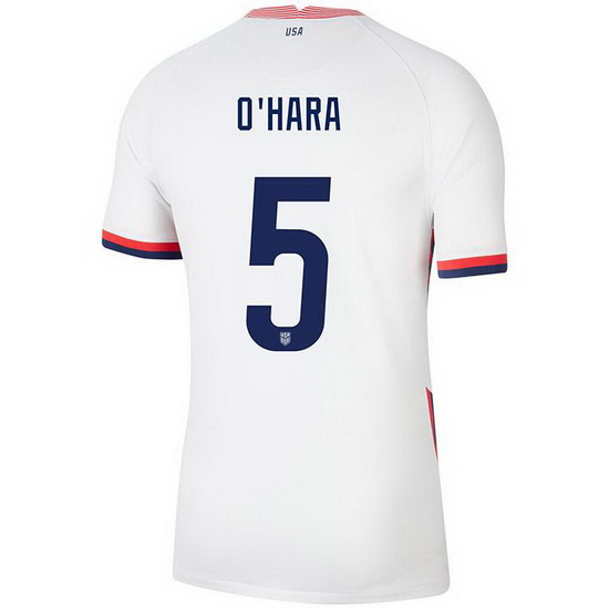 USA White Kelley O'Hara 2020 Men's Stadium Soccer Jersey