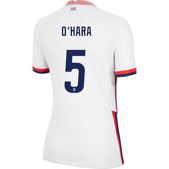 USA Home Kelley O'Hara 2020/21 Women's Stadium Soccer Jersey