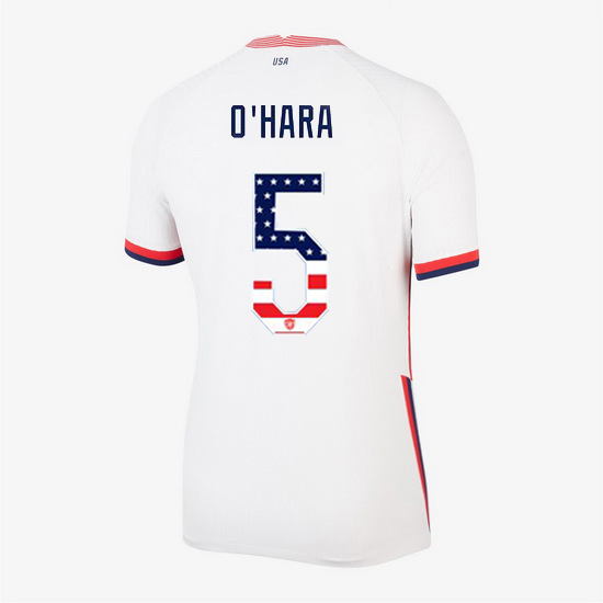 White Kelley O'Hara 2020 Women's Stadium Jersey Independence Day