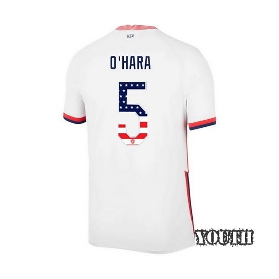 Home Kelley O'Hara 2020/21 Youth Stadium Jersey Independence Day