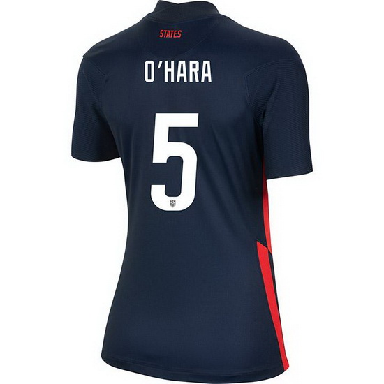 USA Away Kelley O'Hara 2020/21 Women's Stadium Soccer Jersey