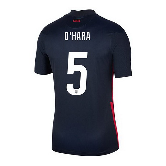 USA Navy Kelley O'Hara 2020/2021 Youth Stadium Soccer Jersey