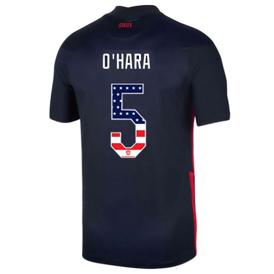 Away Kelley O'Hara 20/21 Men's Stadium Jersey Independence Day