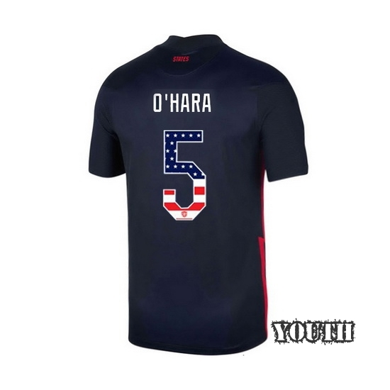 Away Kelley O'Hara 2020/21 Youth Stadium Jersey Independence Day