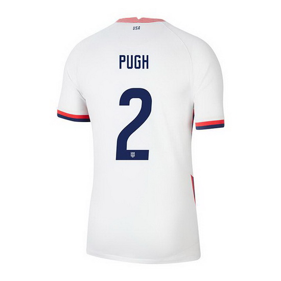 USA White Mallory Pugh 2020/2021 Youth Stadium Soccer Jersey