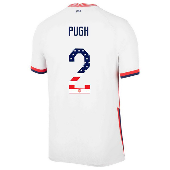 Home Mallory Pugh 20/21 Men's Stadium Jersey Independence Day