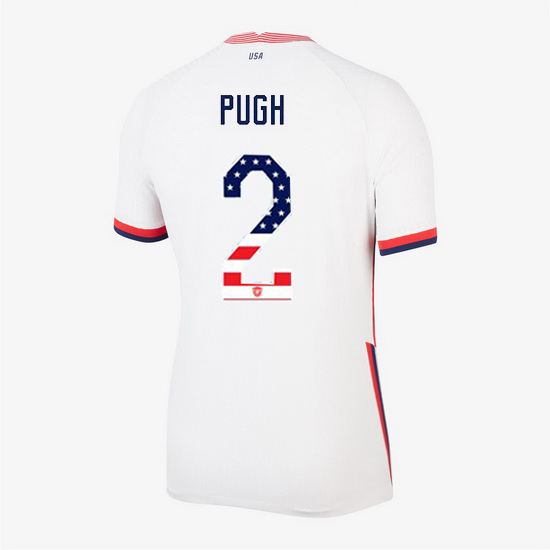 White Mallory Pugh 2020 Women's Stadium Jersey Independence Day