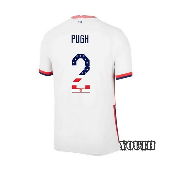 Home Mallory Pugh 2020/21 Youth Stadium Jersey Independence Day
