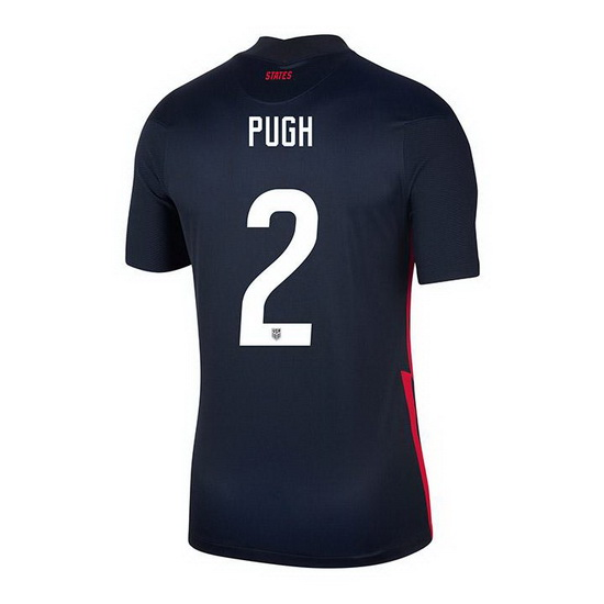 USA Navy Mallory Pugh 2020/2021 Youth Stadium Soccer Jersey
