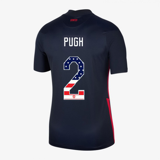 Navy Mallory Pugh 2020 Women's Stadium Jersey Independence Day