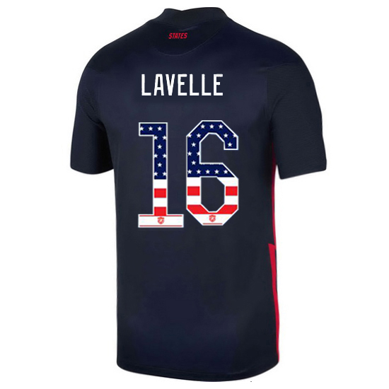 Away Rose Lavelle 20/21 Men's Stadium Jersey Independence Day