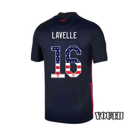Away Rose Lavelle 2020/21 Youth Stadium Jersey Independence Day