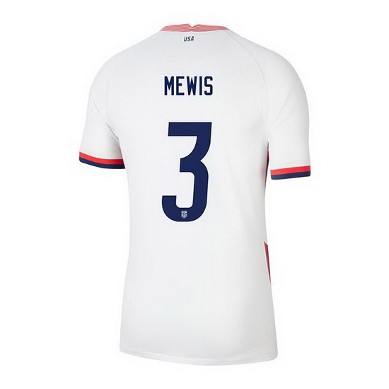 USA White Samantha Mewis 2020/2021 Youth Stadium Soccer Jersey