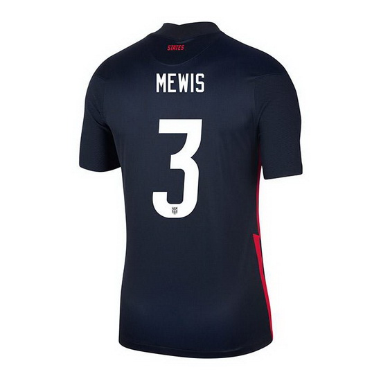 USA Navy Samantha Mewis 2020/2021 Youth Stadium Soccer Jersey