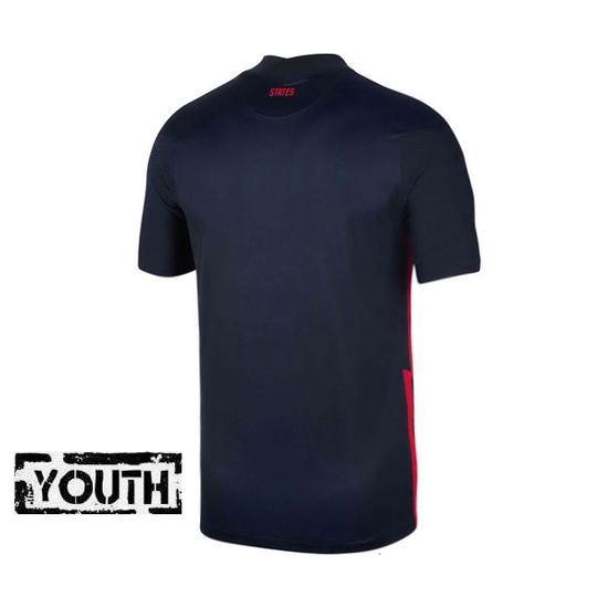 USA Navy Blank 2020/2021 Youth Stadium Soccer Jersey