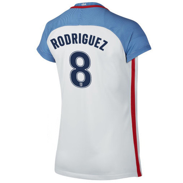 2016/2017 Amy Rodriguez Stadium Home Jersey USA Soccer #8