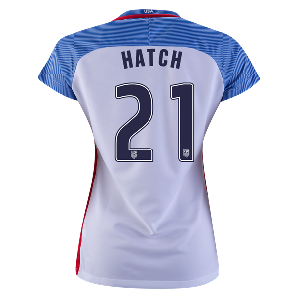 2016/2017 Ashley Hatch Stadium Home Jersey USA Soccer #21