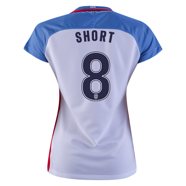 2016/2017 Casey Short Stadium Home Jersey USA Soccer #8