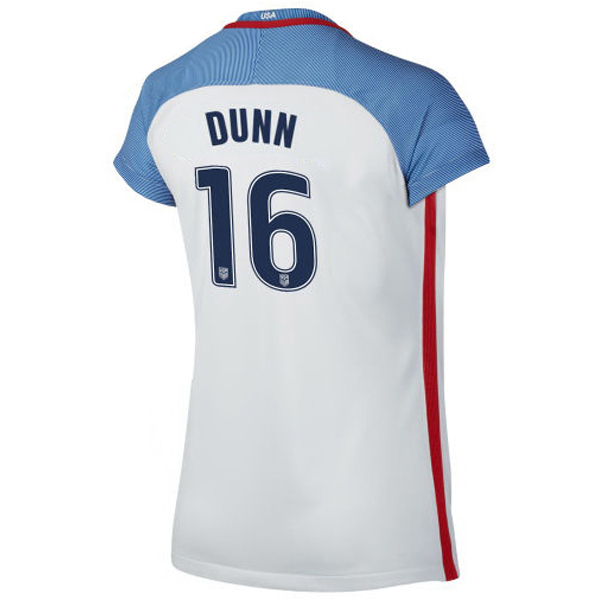2016/2017 Crystal Dunn Stadium Home Jersey USA Soccer #16