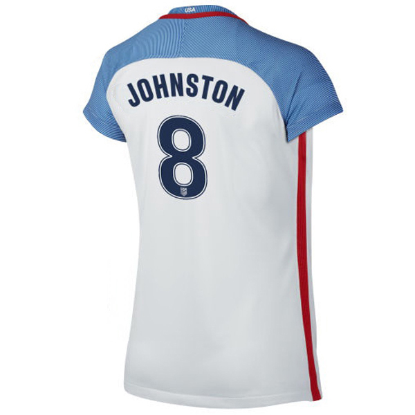 2016/2017 Julie Johnston Stadium Home Jersey USA Soccer #8