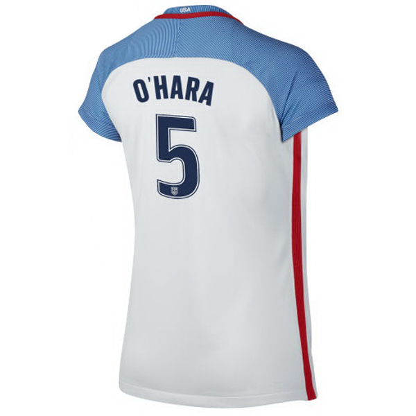 2016/2017 Kelley O'Hara Stadium Home Jersey USA Soccer #5