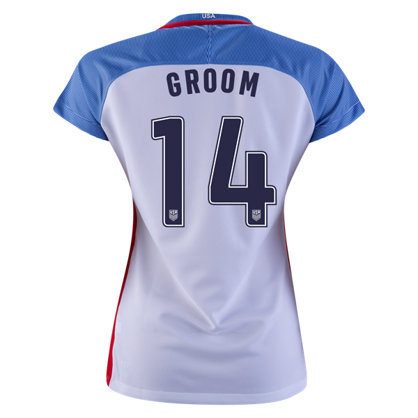 2016/2017 Shea Groom Stadium Home Jersey USA Soccer #14