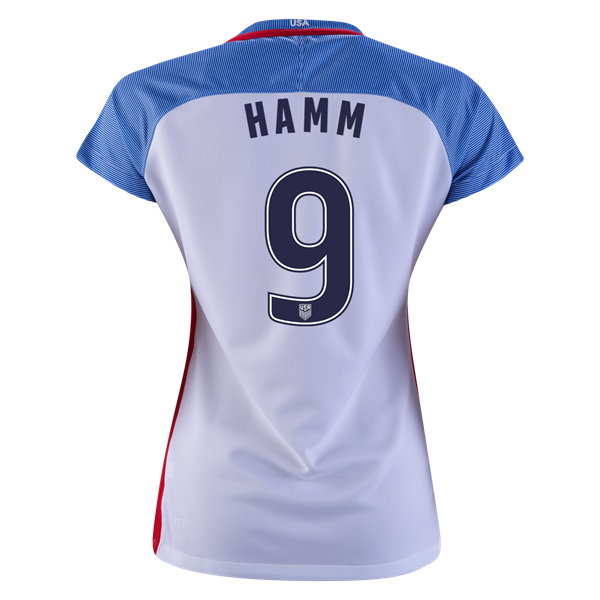 2016/2017 Mia Hamm Stadium Home Jersey USA Soccer #9 - Click Image to Close