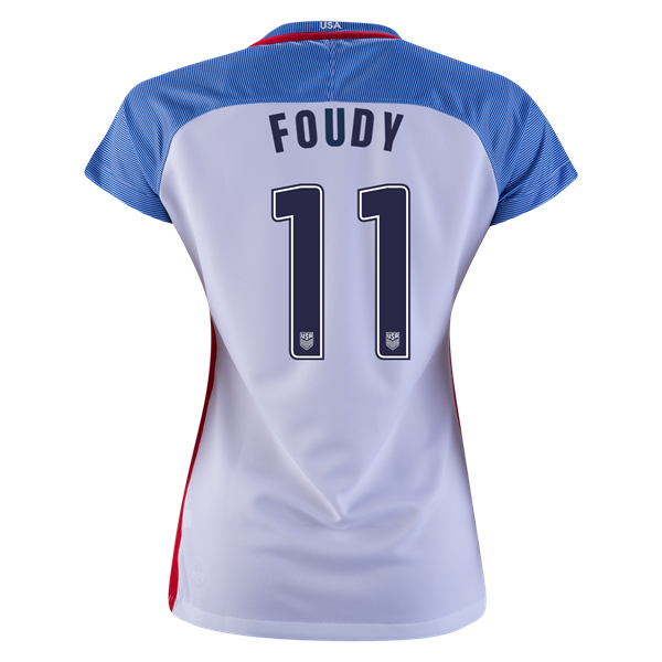2016/2017 Julie Foudy Stadium Home Jersey USA Soccer #11