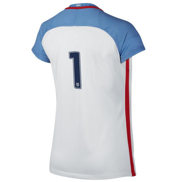 2016/2017 Number One Stadium Home Jersey USA Soccer #1