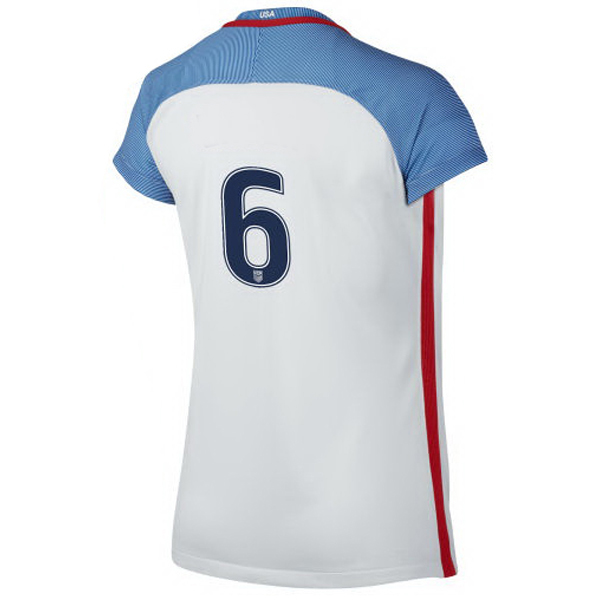 2016/2017 Number Six Stadium Home Jersey USA Soccer #6
