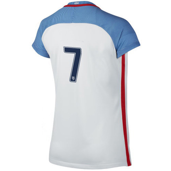 2016/2017 Number Seven Stadium Home Jersey USA Soccer #7