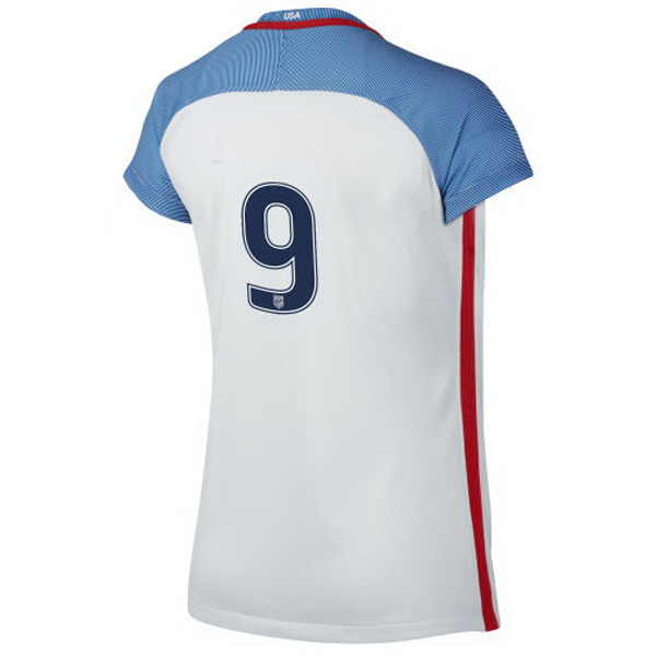 2016/2017 Number Nine Stadium Home Jersey USA Soccer #9