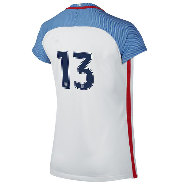 2016/2017 Number Thirteen Stadium Home Jersey USA Soccer #13