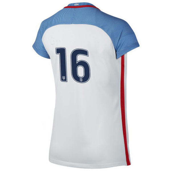 2016/2017 Number Sixteen Stadium Home Jersey USA Soccer #16