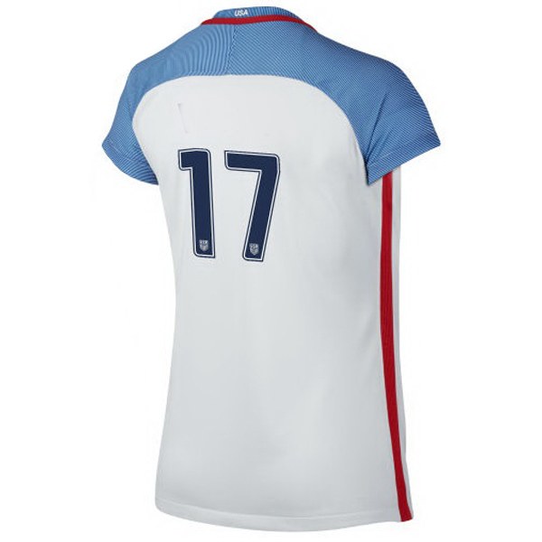 2016/2017 Number Seventeen Stadium Home Jersey USA Soccer #17