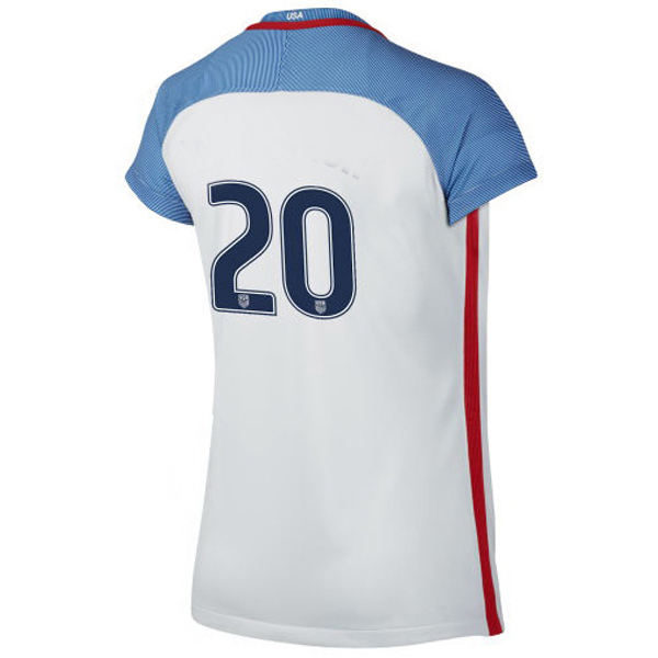 2016/2017 Number Twenty Stadium Home Jersey USA Soccer #20