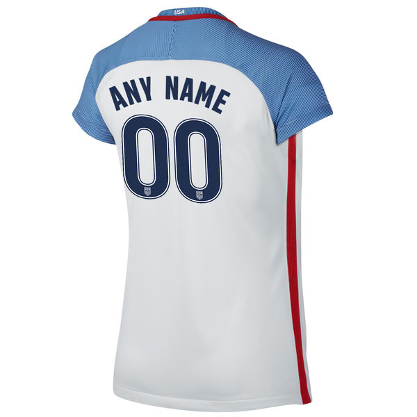 2016/2017 Customized Stadium Home Jersey USA Soccer #00