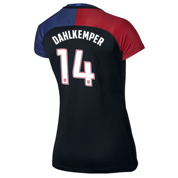 2016/2017 Abby Dahlkemper Stadium Away Jersey USA Soccer #14