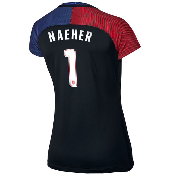 2016/2017 Alyssa Naeher Stadium Away Jersey USA Soccer #1